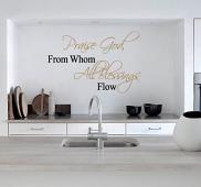 Praise God Wall Decal