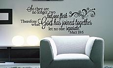 Let No One Separate Wall Decal