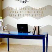 Run It Like A Business Wall Decal