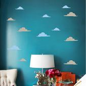 Cloud Pack Wall Decal