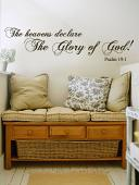 Heavens Declare Wall Decal