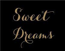 Sweet Dreams Simply Words Decal