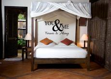 You Me Forever Always Wall Decal