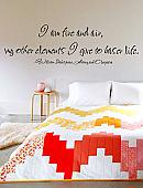 Fire And Air Wall Decal