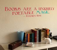Stephen King Quote Wall Decal
