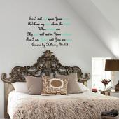 Oceans By Hillsong United Wall Decal