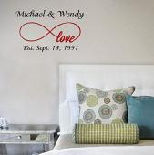 Infinity Names Wall Decal
