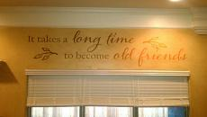 Old Friends Wall Decal