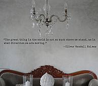Holmes Quote Wall Decal
