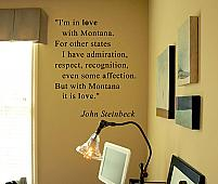 Steinbeck Quote Wall Decal