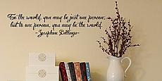 One Person Wall Decal