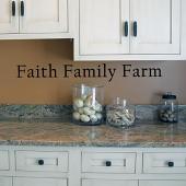 Faith Family Farm Wall Decal