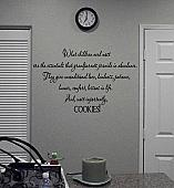 Grandparents Cookies Wall Decal