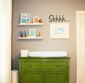 Shhhhh Wall Decal