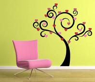 Holiday Trees Wall Decals