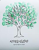 Tree Thumbprint Guest Book