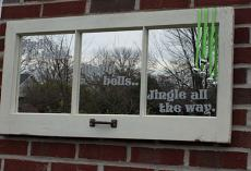 Jingle Bells Jingle All The Way Wall Decal