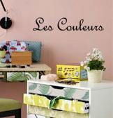 Les Couleurs Wall Decal