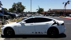 Tesla Logo Icon Model S