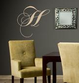 Chopin Monogram Wall Decal