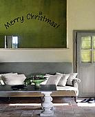 Christmas Arch Wall Decal