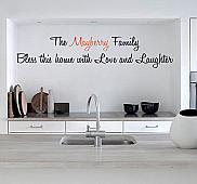Kitchen Monogram Wall Decal
