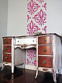 Fancy French Wall Runner Decal