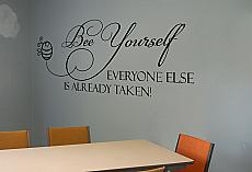 Bee Yourself Wall Decal