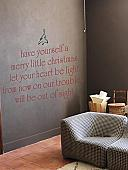 Merry Little Christmas   Wall Decals