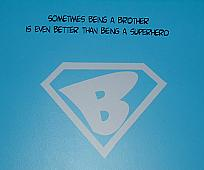 Superhero Brother Wall Decals