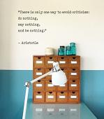 Aristotle Quote Wall Decal