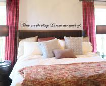 Dreams Are Made Of Wall Decal