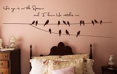 Eye Sparrow Wall Decal