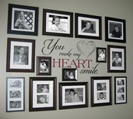 My Heart Smile Wall Decal