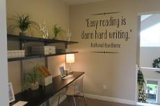 Easy Reading Wall Decal