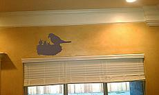 Nest and Birds Wall Decal