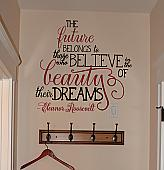 The Beauty of Their Dreams Wall Decal