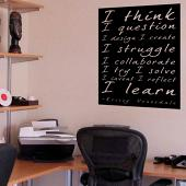 Venosdale Quote Wall Decal