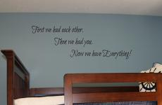 Then We Had You Wall Decals