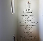 We Are Family Wall Decal