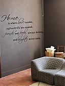 Home Love Memories Friends Family Wall Decals