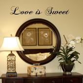 Love is Sweet Wall Decal