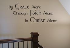 In Christ Alone Wall Decal