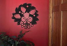 Wreath Wall Decal