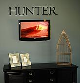 Last Name Wall Decal