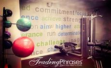 Exercise Room Wall Decal
