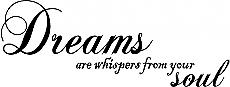 Dreams are Whispers