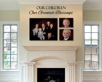 Our Children Wall Decal