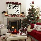 Jingle All The Way Wall Decal