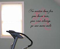 Running Shoes Wall Decal